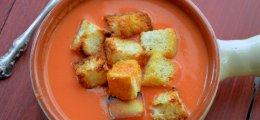 3 cremas difrentes con verduraso